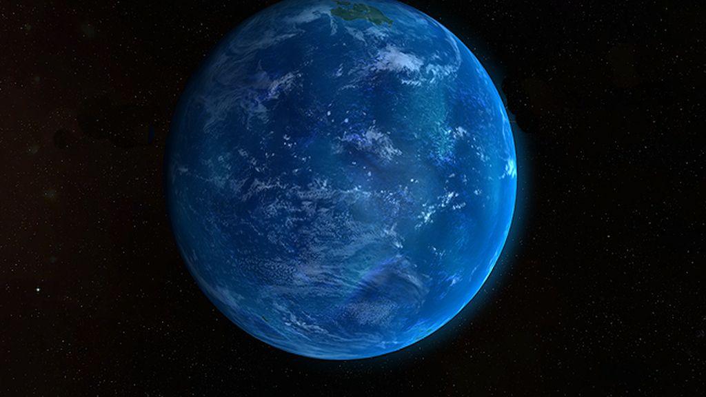 Manaan, uno de los planetas acuáticos