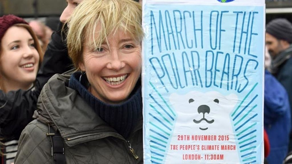 "Emma Thompson: ""There is my planet"""