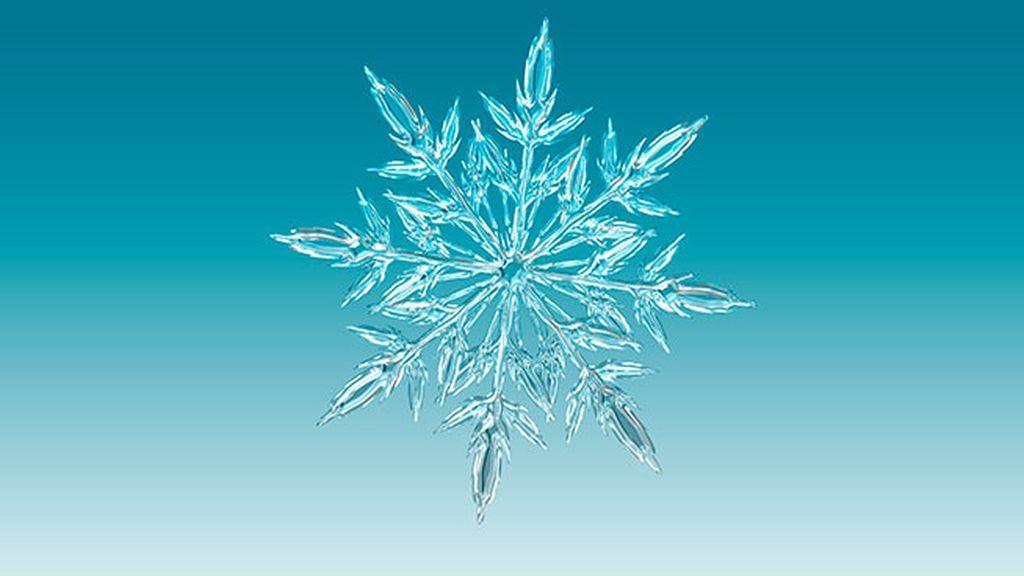 Los románticos copos de nieve de Koch