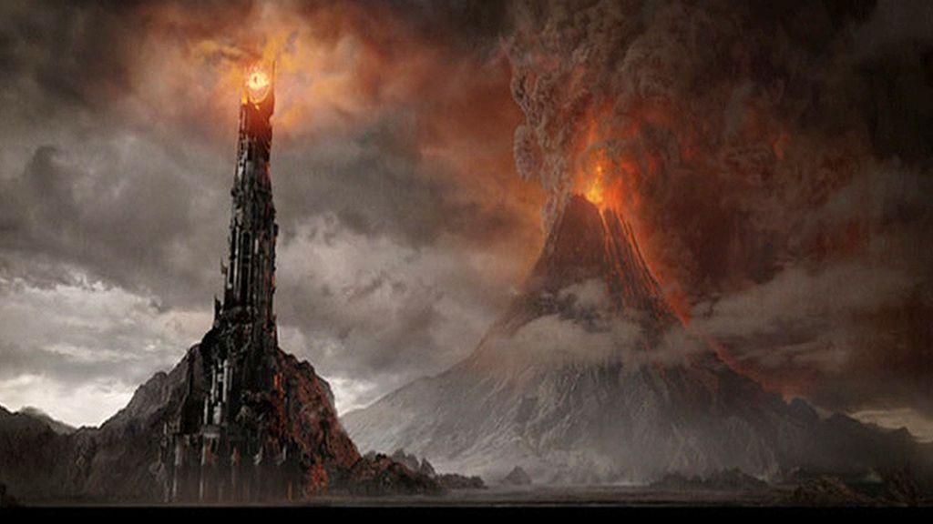 La Montaña de Fuego de 'El señor de los anillos'