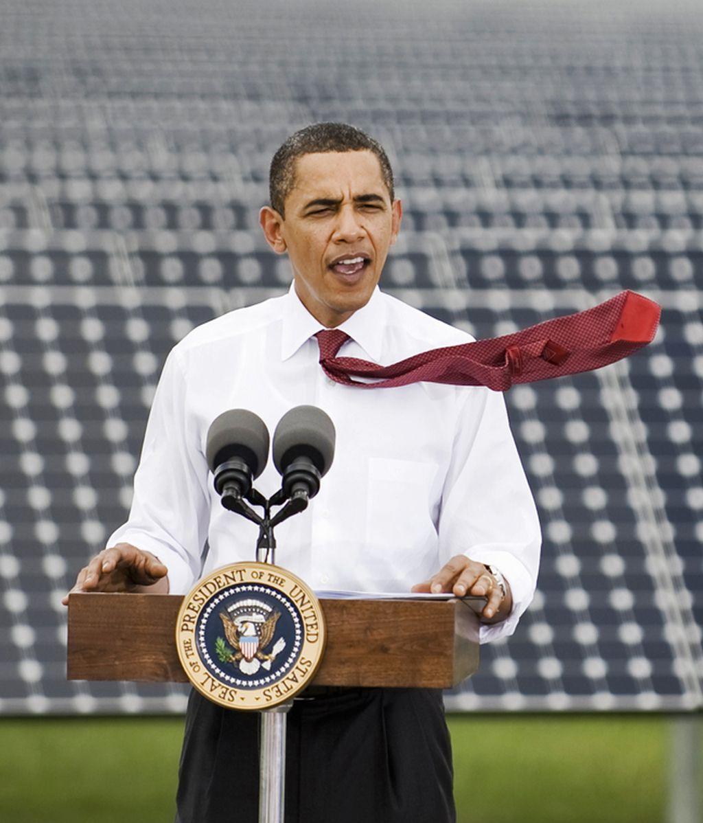 La corbata orientativa de Obama