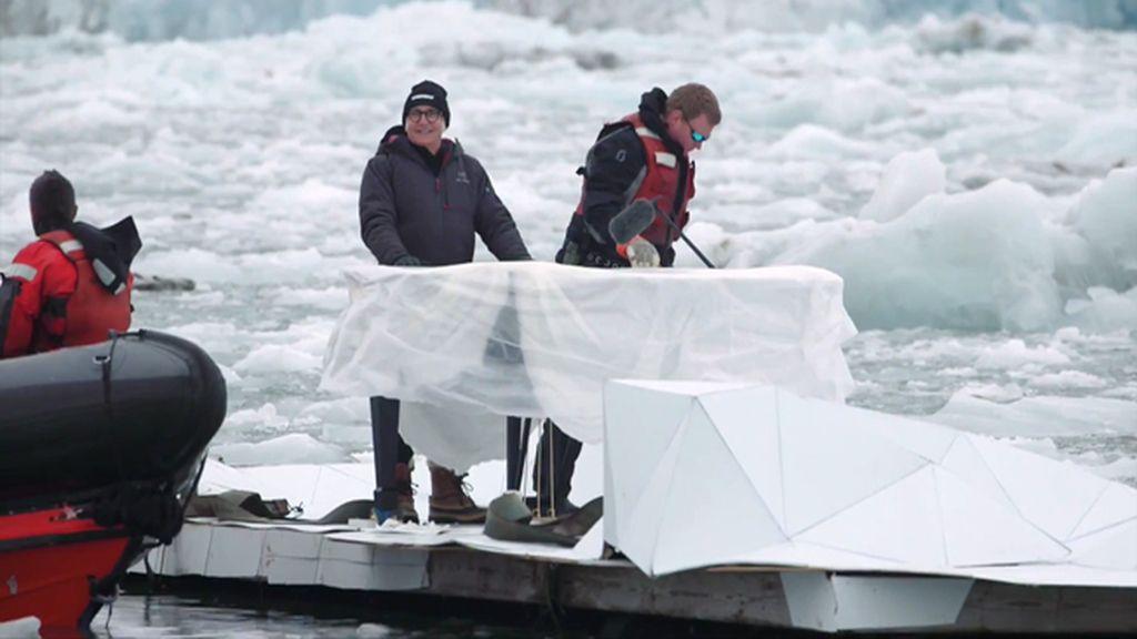 Así se rueda un vídeo-clip en el Ártico