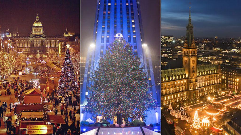 Los termómetros están bajo cero en la mayoría de las ciudades europeas