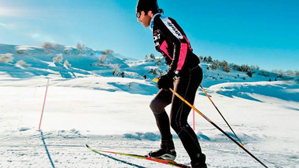 Esquí de fondo en el Valle del Roncal