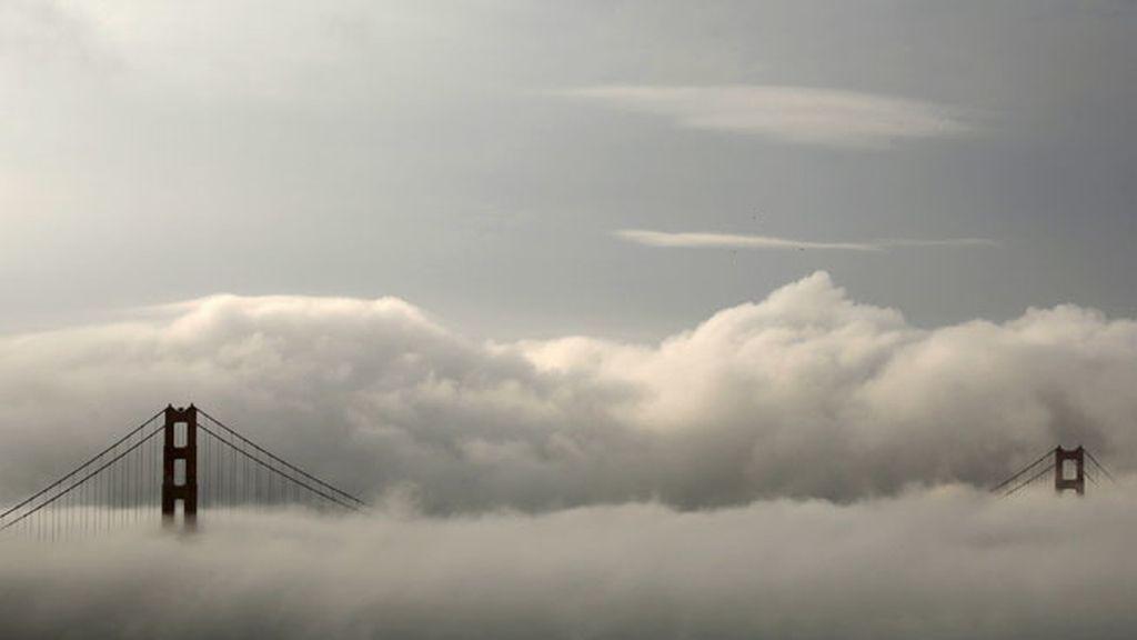 El famoso Golden Gate de San Francisco alcanza los 227 metros de altura