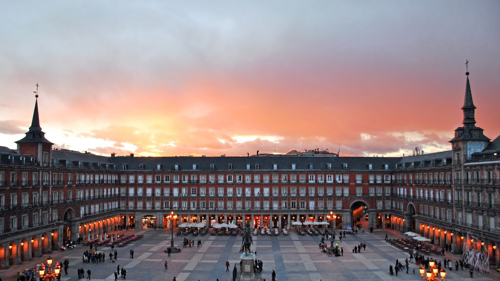 madrid antes despues plaza mayor