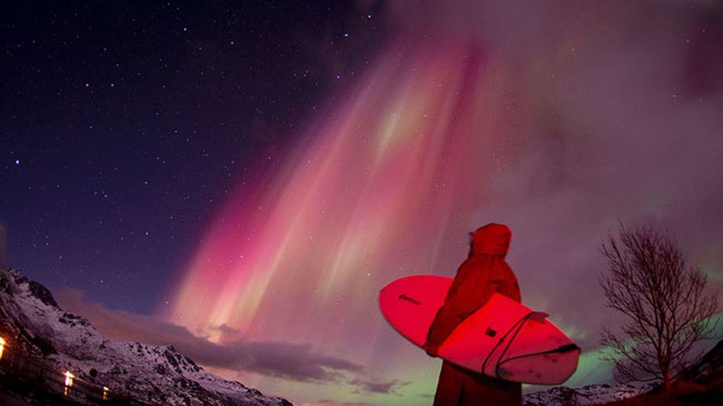 auroras y surf