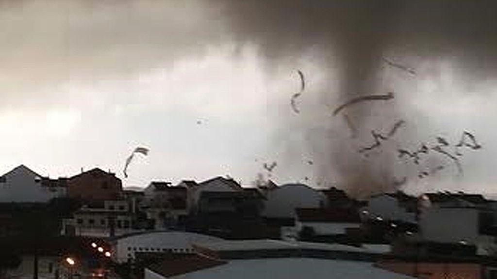 El tornado de Huelva