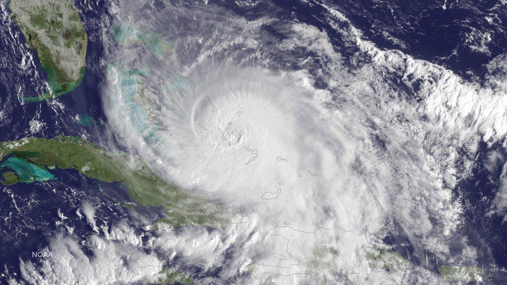 huracán joaquín frente
