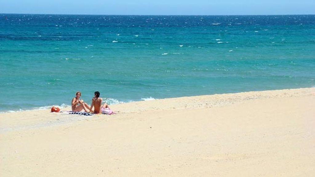 Playa Carabassí, con o sin bañador
