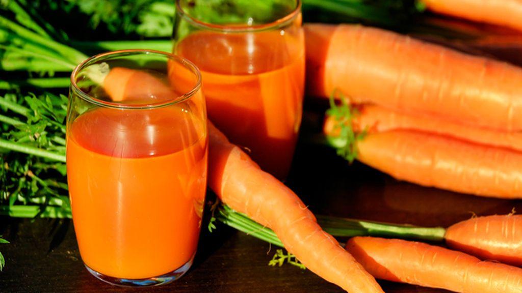 ¿Nos tomamos un zumo de zanahoria?
