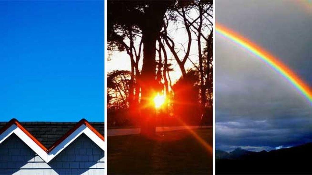 El sol en la cara, el olor a tierra mojada, los arcoíris 'de película'...