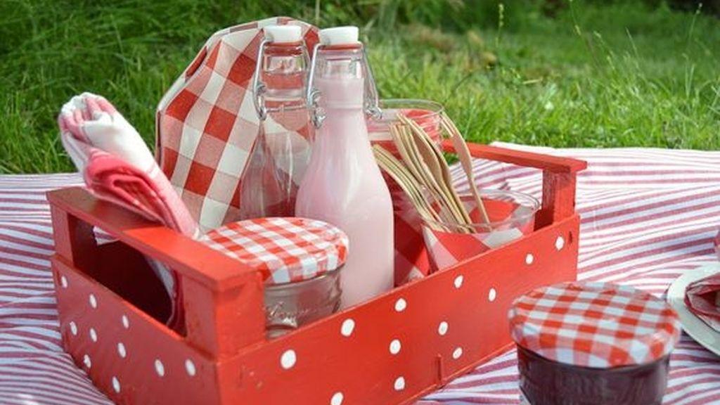 El picnic está de moda: cesta, mantel de cuadros, algo para brindar y buena compañía