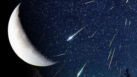Esta noche, la luna menguante favorecerá la observación de ...