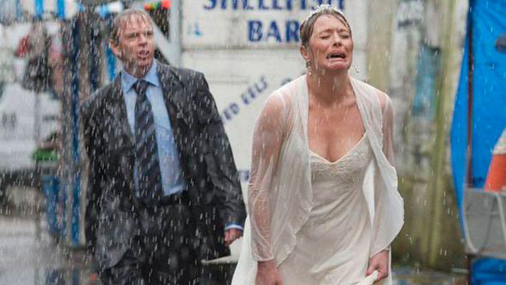 novias lluvia