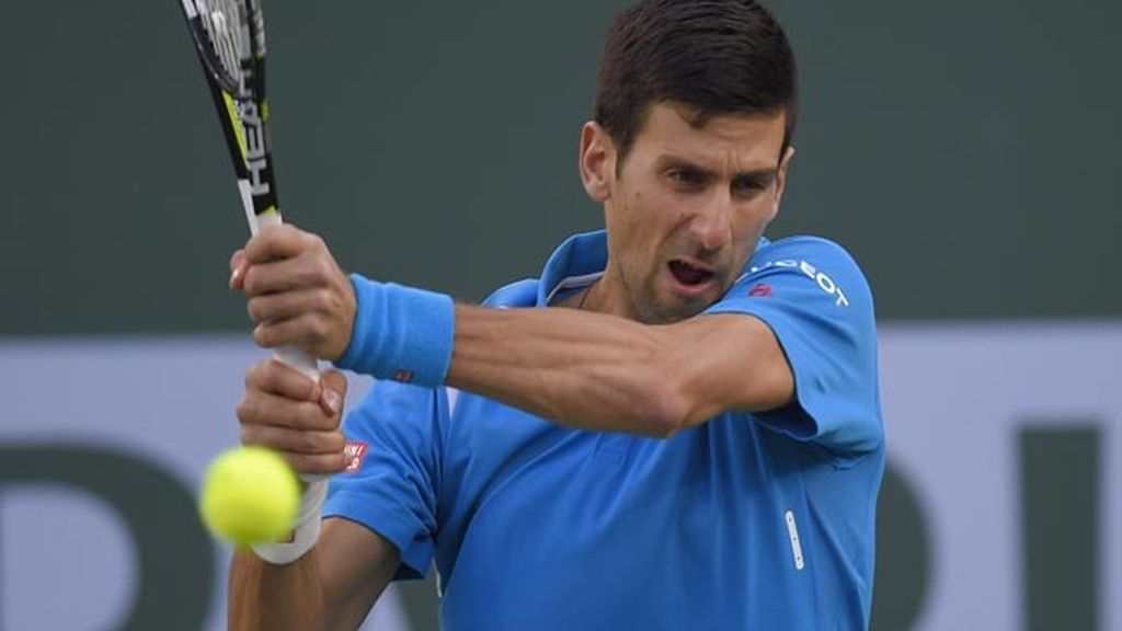 Novak Djokovic a pelotazos contra el gluten