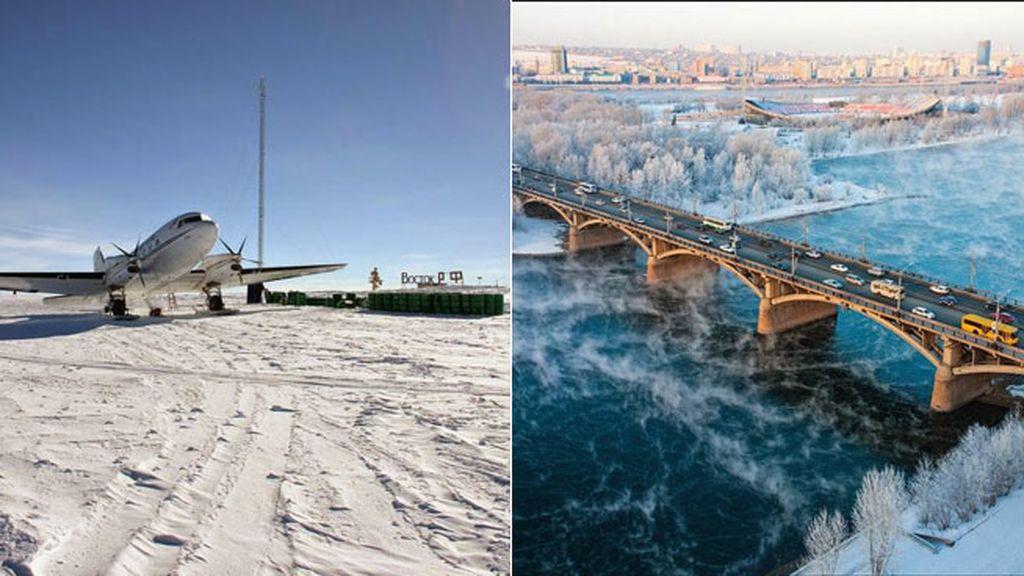 Un polo del frío a cada lado de la Tierra