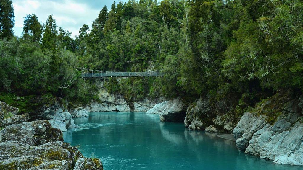 4 - El río Hokitika (Isla Sur, Nueva Zelanda)