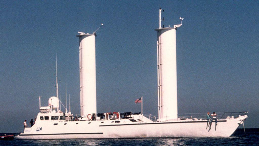 Barco eólico