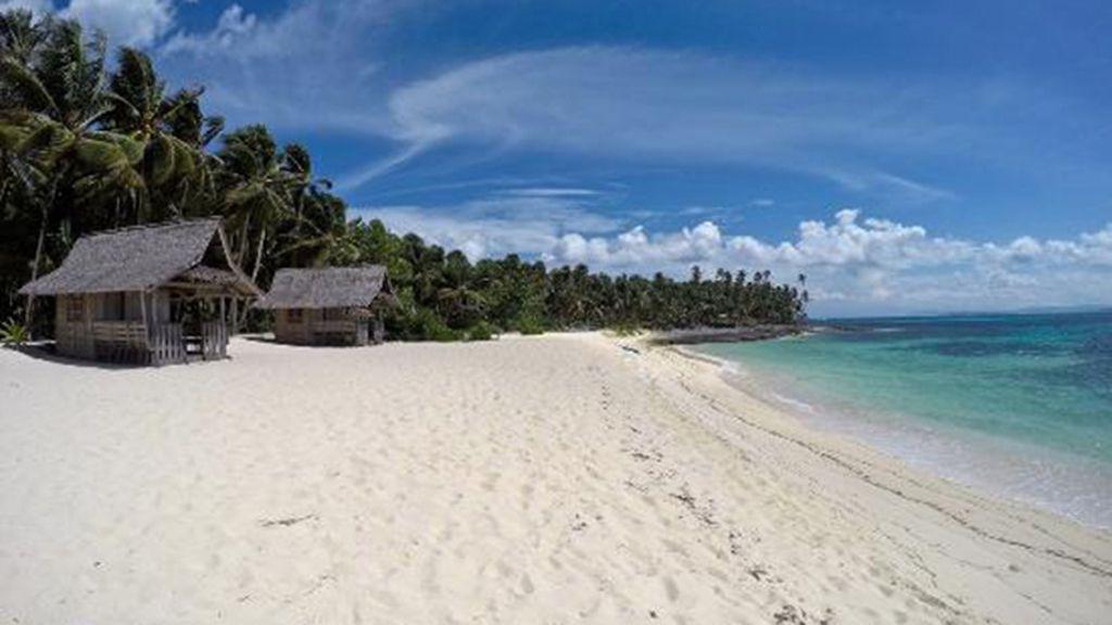 Dako island, con los cocos más dulces de la zona