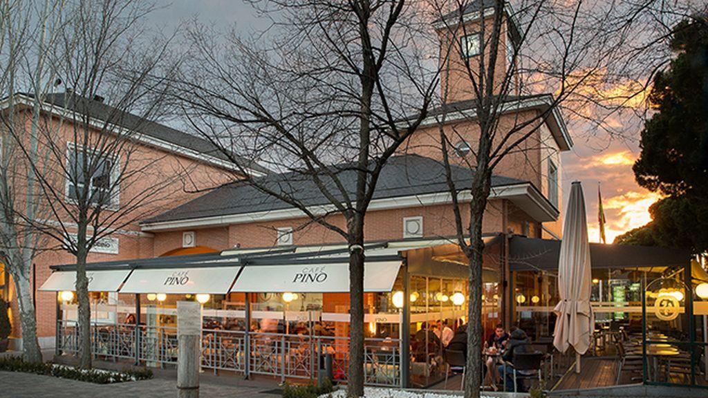 La terraza de Café Pino en La Moraleja (Plaza de la Moraleja, s/n. Alcobendas)
