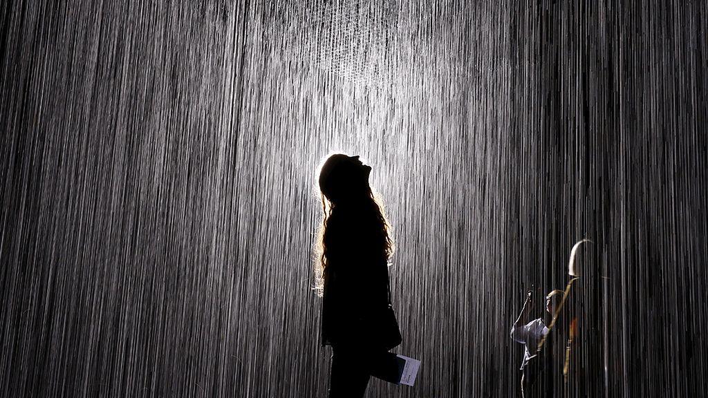 Sentir, oler y escuchar la lluvia… pero sin mojarse