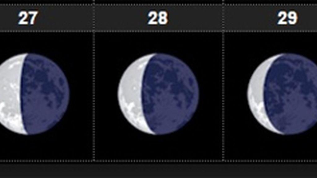 Fase lunar semana julio
