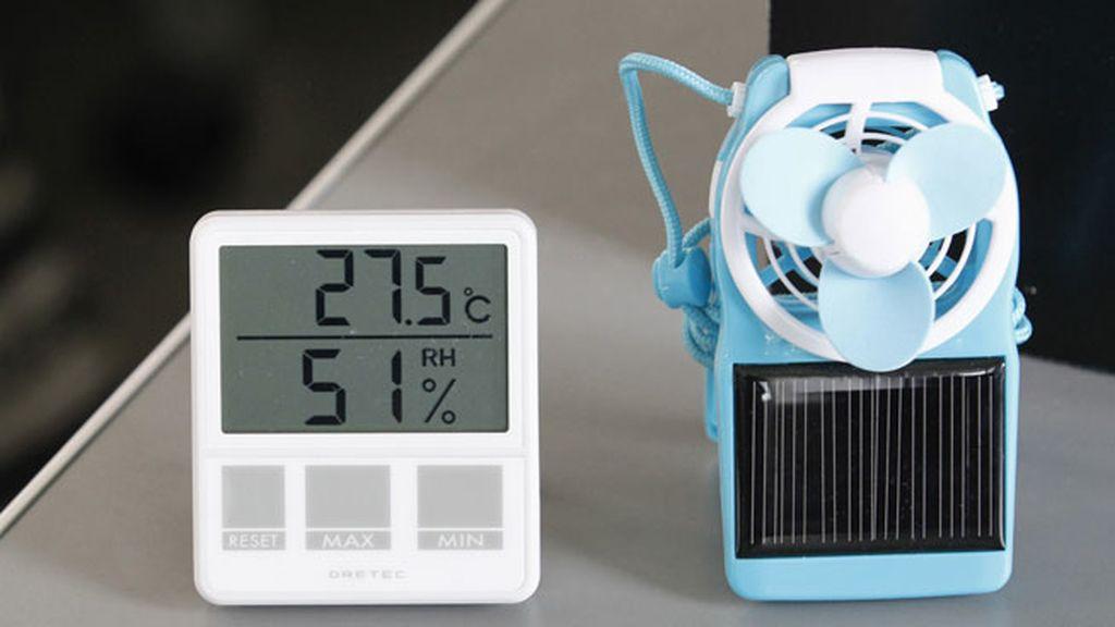temperatura aire acondicionado