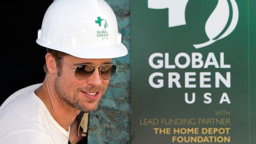 Brad Pitt construyendo las casas sostenibles