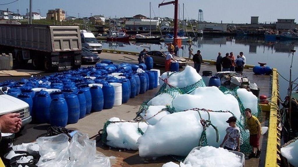 pescar iceberg