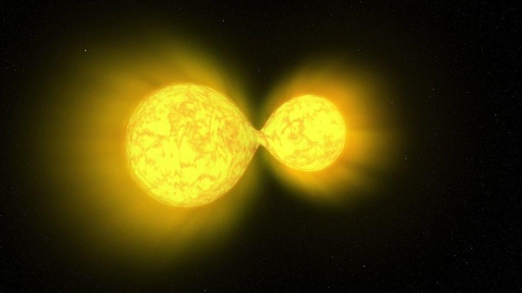 fusión de estrellas calabaza