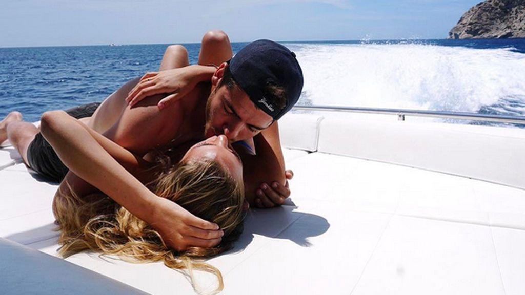 Pasión en alta mar: Morata y Alice Campello, más que amor a medio mes de su boda
