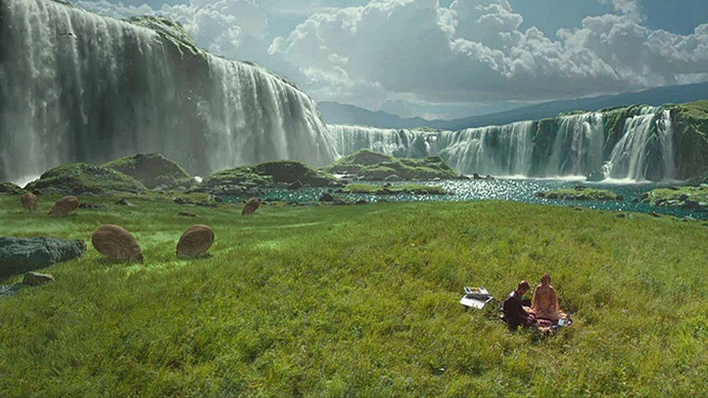 Las cataratas de Naboo, el planeta de Padmé