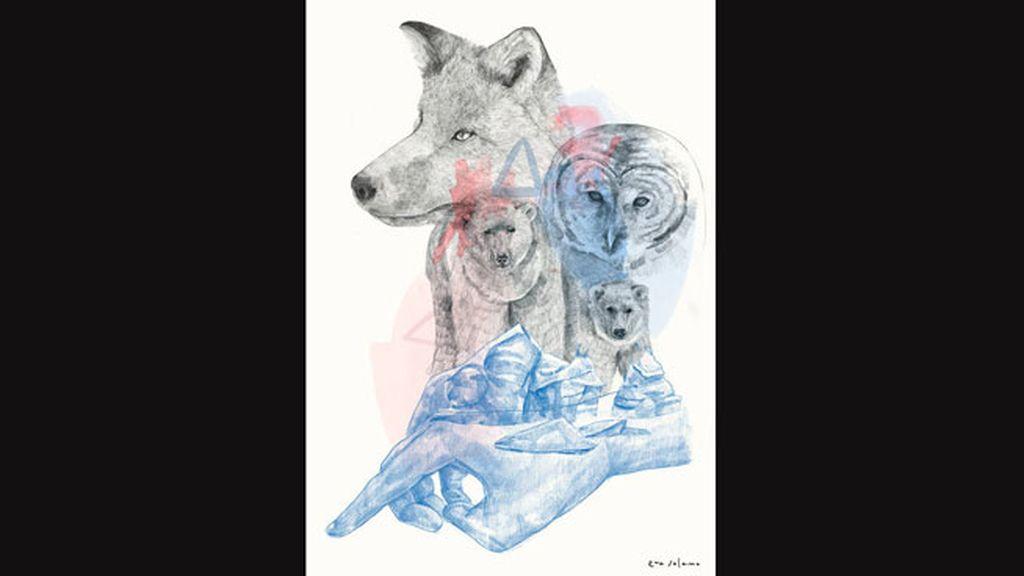 Eva Solano y su ilustración: el futuro del Ártico está en nuestras manos