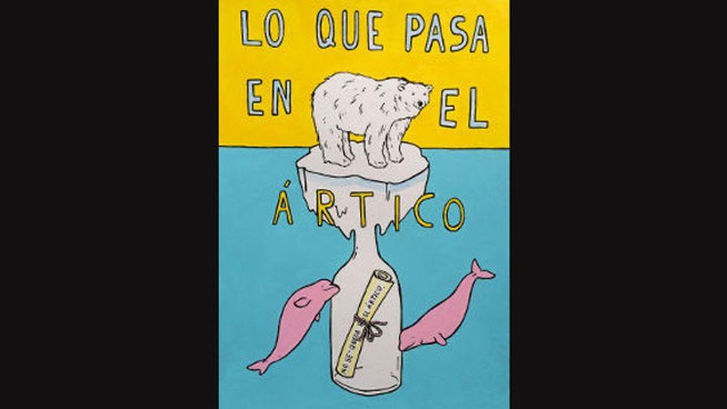 Pau Sanz i Vila manda un mensaje de ayuda a toda la humanidad en una botella