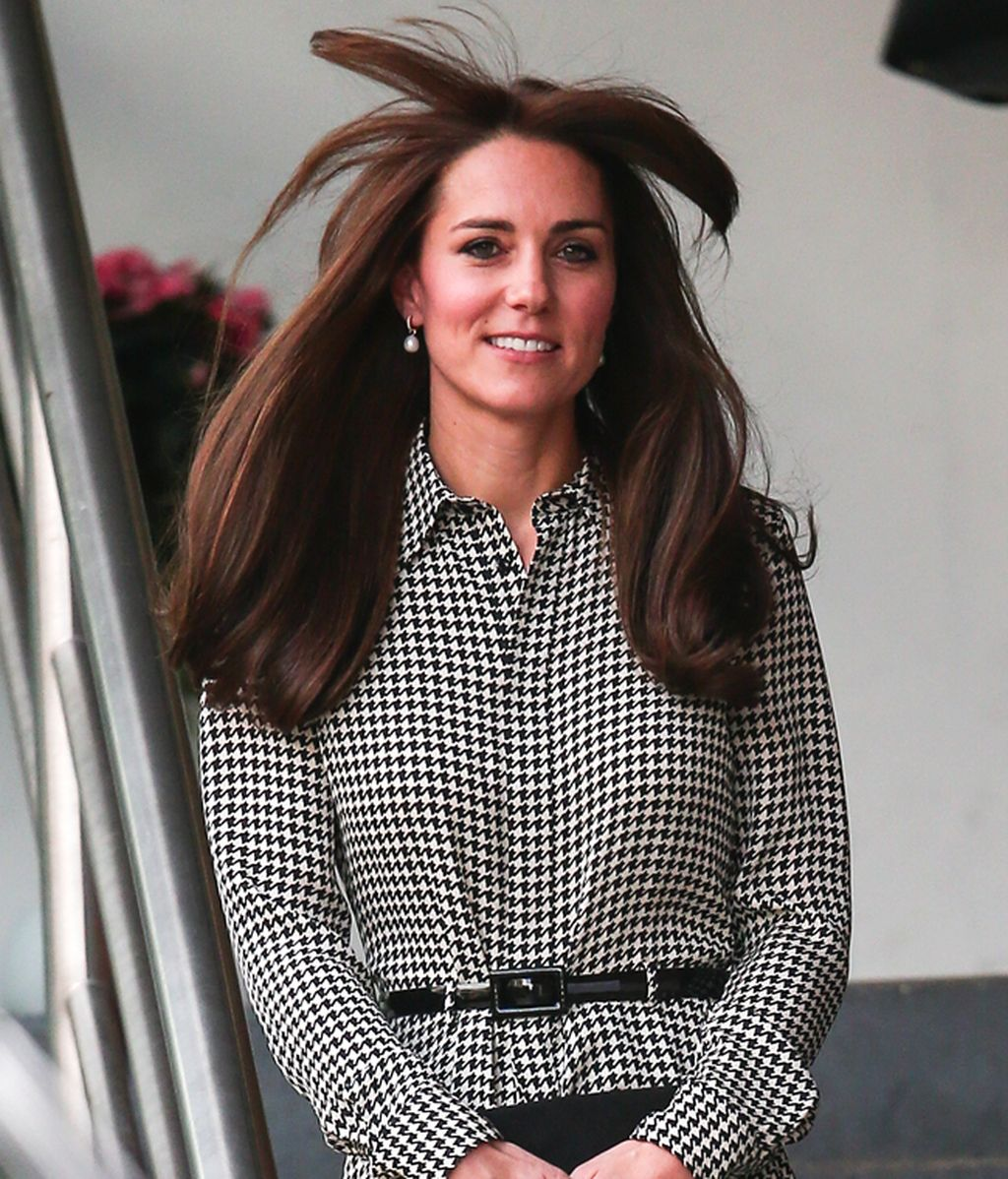 El pelo palmera de Kate Middleton