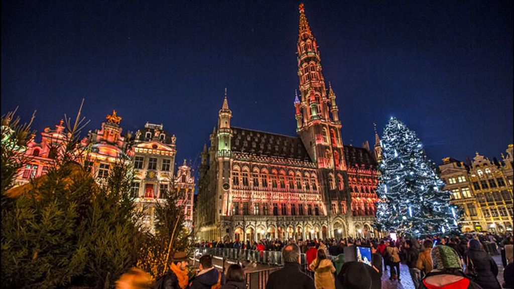 La Grand Place de Bruselas (Bélgica)