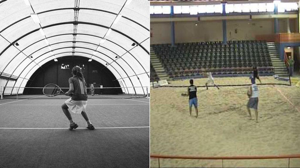 Practica tus deportes de verano favoritos en invierno: vóley-playa y pádel 'indoor'
