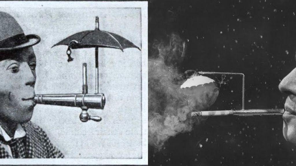Paraguas cigarrillos
