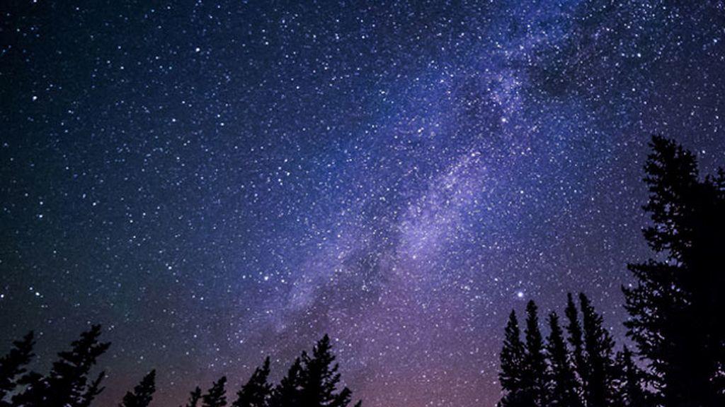 Foto de lluvia de estrellas