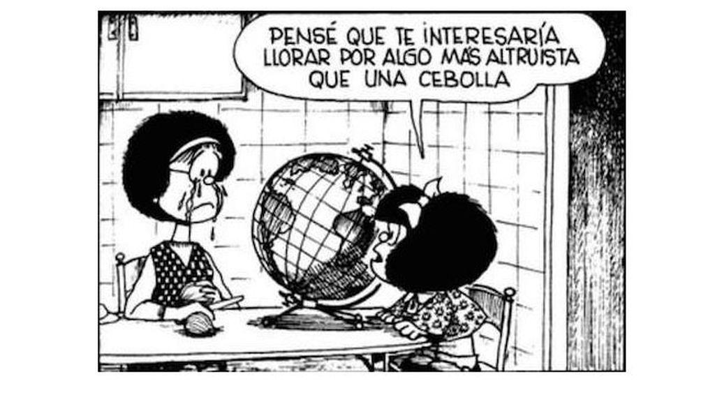 La conciencia ecologista, elemento recurrente en las tiras de Mafalda