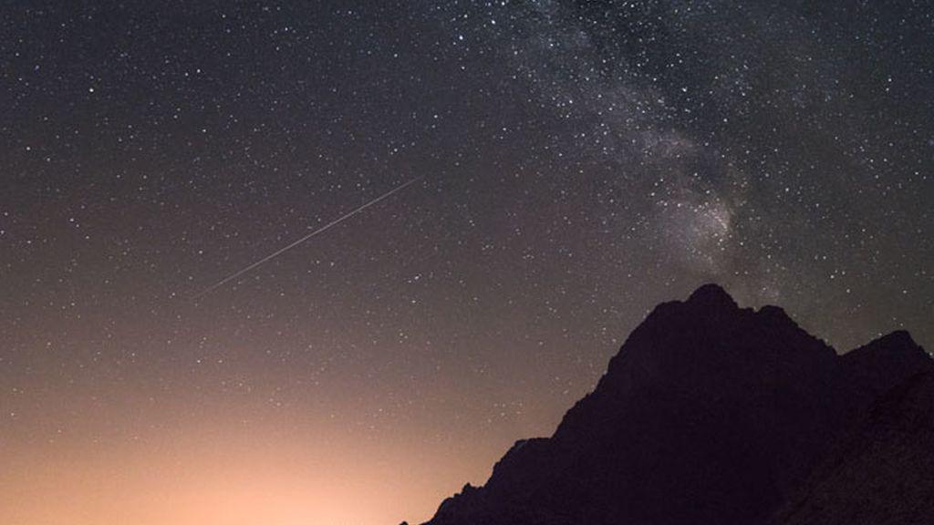 Estrella fugaz horizonte