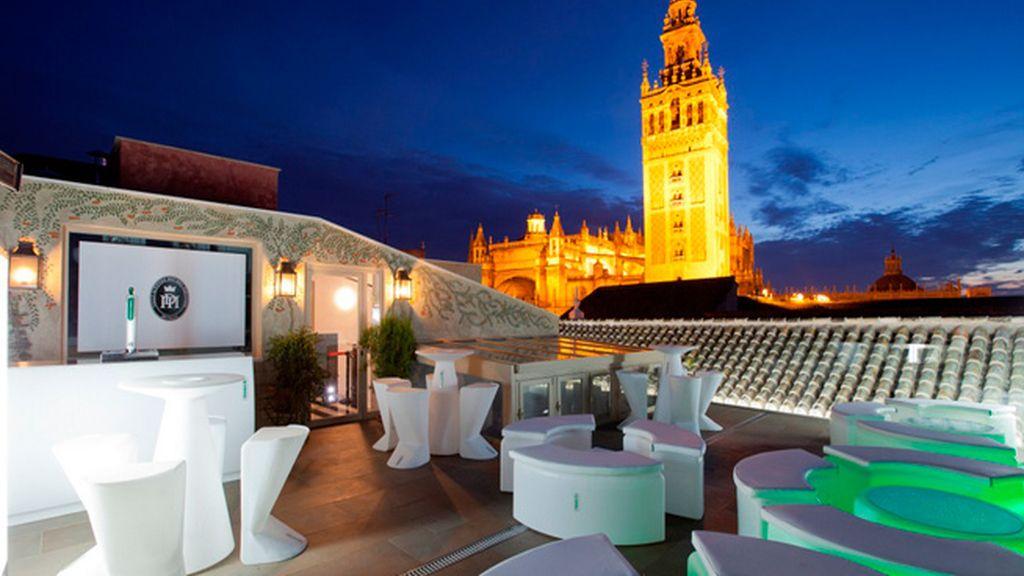Una terraza con vistas en Sevilla