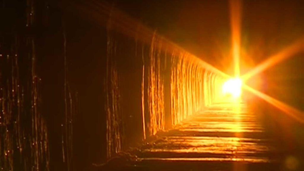 El 'túnel del equinoccio' en Teruel que se ilumina con la llegada ...