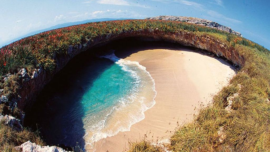 La Playa del Amor, en México