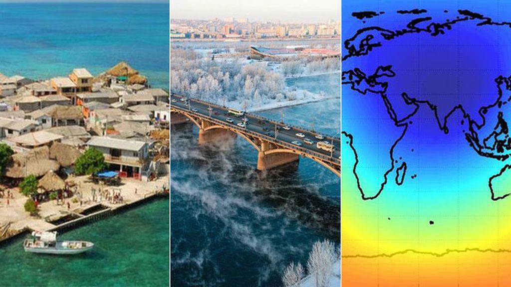 El contrario al punto Nemo es el Polo de Inaccesibilidad de Eurasia