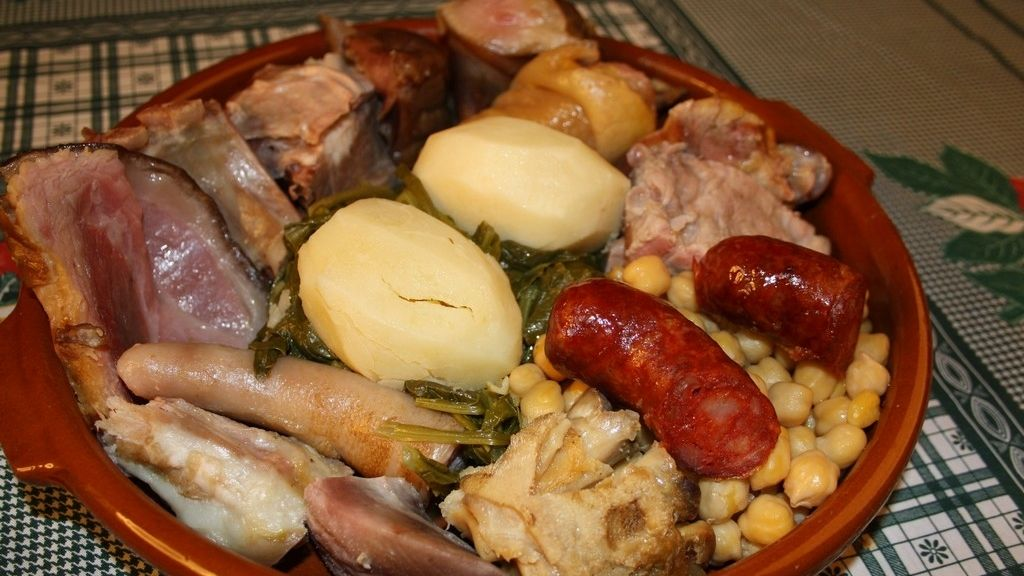 Cocido Madrileño,Gastronomia Española,Recetas Tradicionales