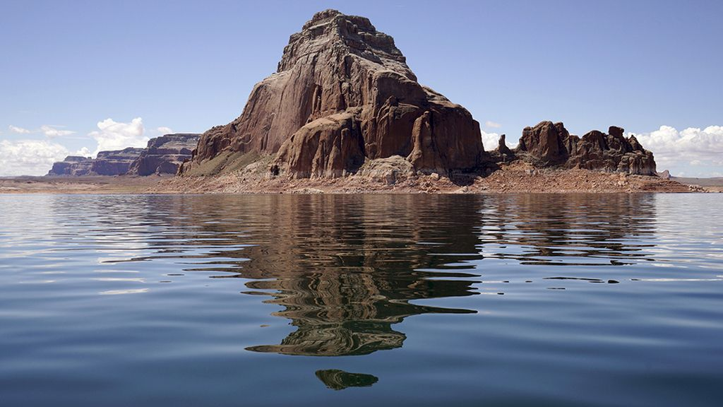 El segundo lago artificial más grande de EE.UU.