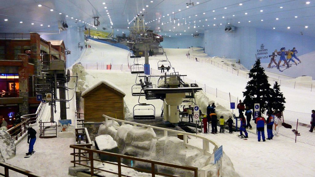 dubái esquí