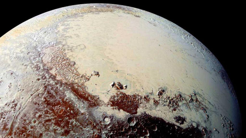Plutón, verano sin olas de calor